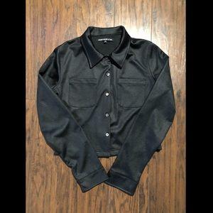 2/$20 Crop Blazer in Black